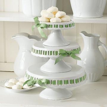 Cake Stand con Lazo 23 cm