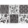 Pack de 6 plantillas texturizadoras Hawaii CK