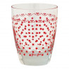 Vaso de cristal Star Red Green Gate