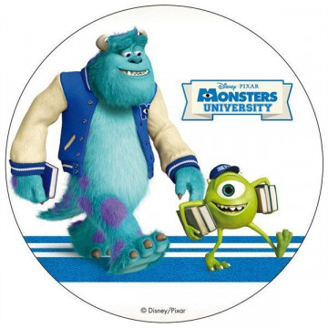 Oblea comestible Monster University 1