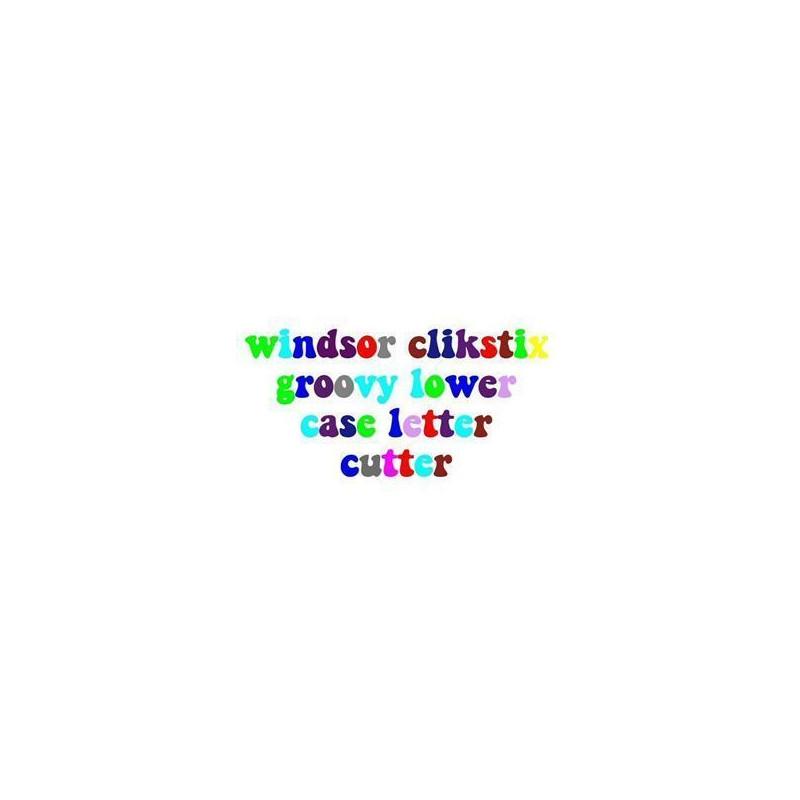 Cortante Clikstix Alfabeto Groovy Minúscula