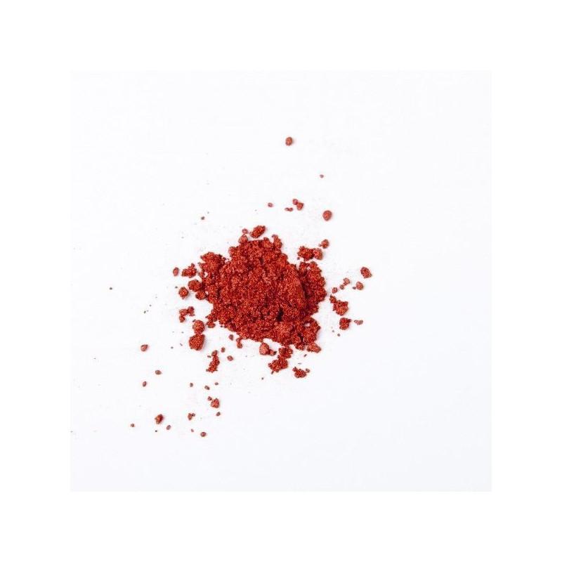 Colorante en polvo perlado Rojo Rubí 5g Molly