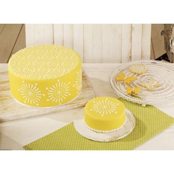 Pack 2 Stencil Cake Couture Birkmann