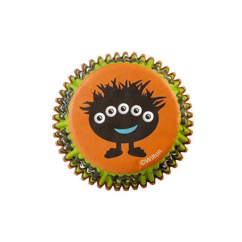 Capsulas cupcakes Monstruo Ojos Wilton