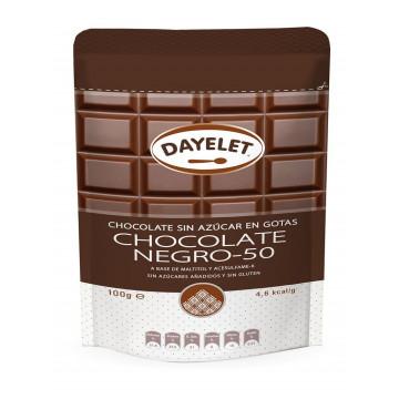 Chocolate negro 50% sin azúcar Minis 100 gr Dayelet
