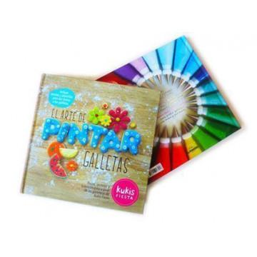 Libro El Arte de Pintar Galletas por Kukis Fiesta