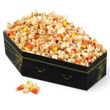 Stand presentación Snacks Ataúd Halloween Wilton