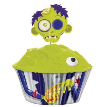 Set para cupcakes: Zombi Wilton