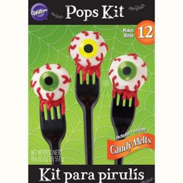 Kit sin horneado Cakepops: Ojos Halloween Wilton