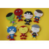 Cortante pack 14 cortantes Super Heroes