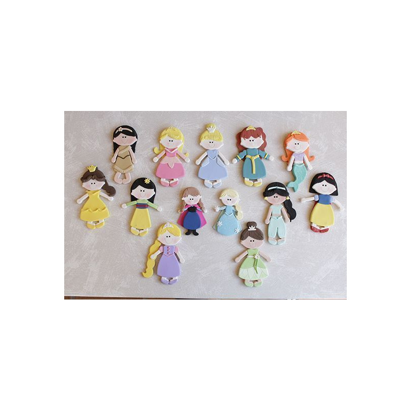 Cortante pack 18 cortantes Princesas