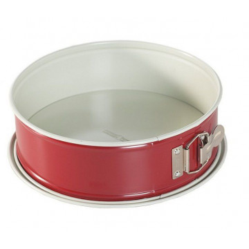 Molde redondo desmoldable 22cm Rojo Nordic Ware