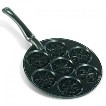 Molde Sartén Pancakes Copo de Nieve Nordic Ware