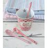 Cuchara cerámica Vichy Rojo Cupcake