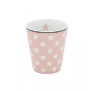 Tazón de leche Rosa Estrellas