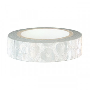 Washi tape Plata Leopardo Green Gate