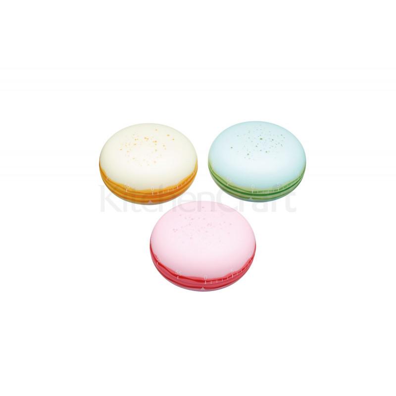 Temporizador de cocina Macarons Rosa