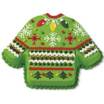 Molde bizcocho Jersey Navidad Wilton