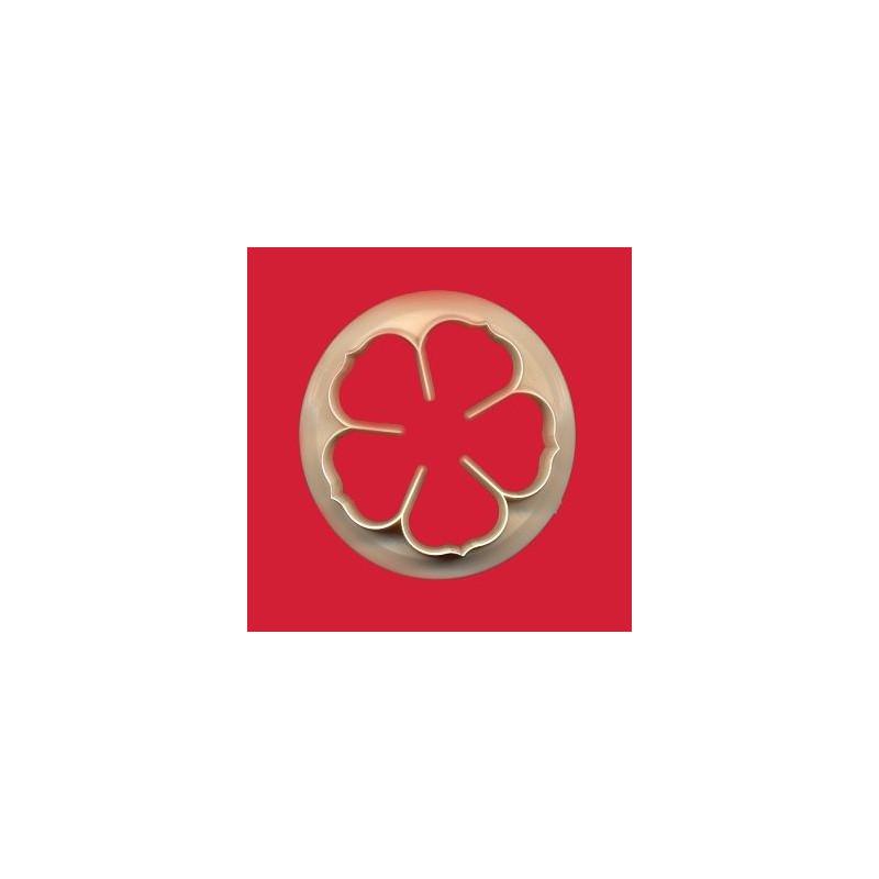 Cortante Flor cinco petalos Rosa 7.5 cm FMM