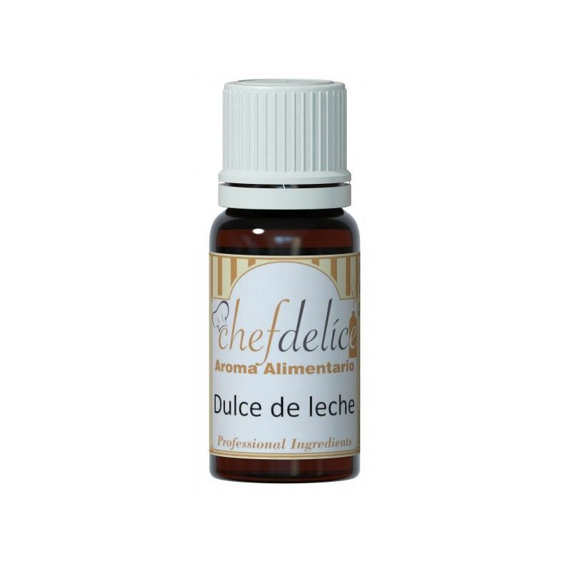 Aroma concentrado Dulce de Leche 10 ml Chefdelice