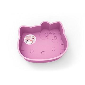 Molde bizcocho silicona 23.5cm Hello Kitty