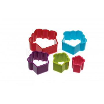 Cortante pack 6 cortantes Cupcake colores