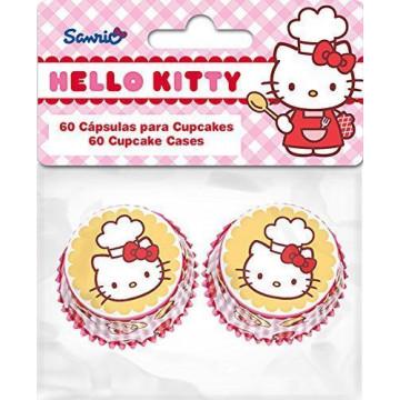 Cápsulas mini cupcakes Hello Kitty