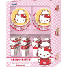 Set cupcakes + topper Hello Kitty