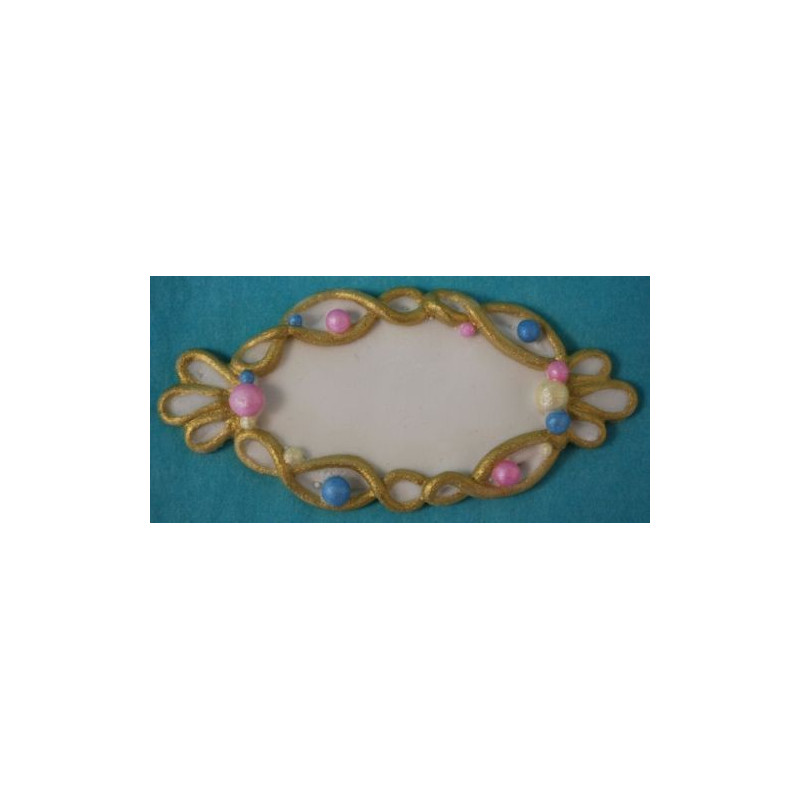 Molde silicona Placa Ornamental