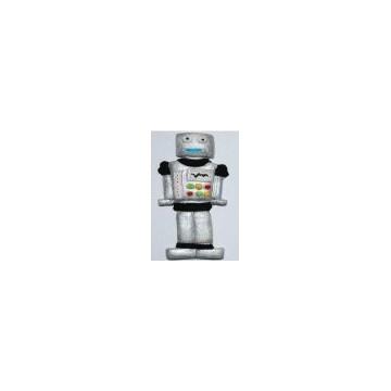 Molde silicona Robot