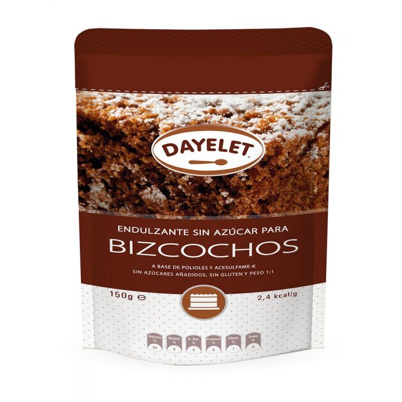 Endulzante sin azúcar para Bizcochos Minis 150gr Dayelet