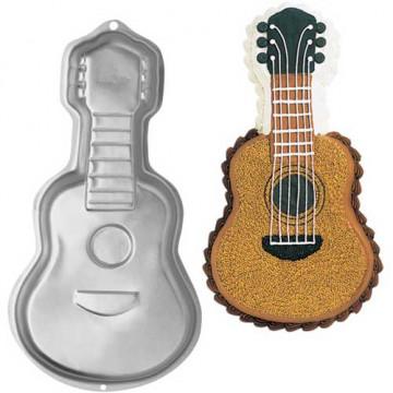 Molde bizcocho Guitarra Wilton