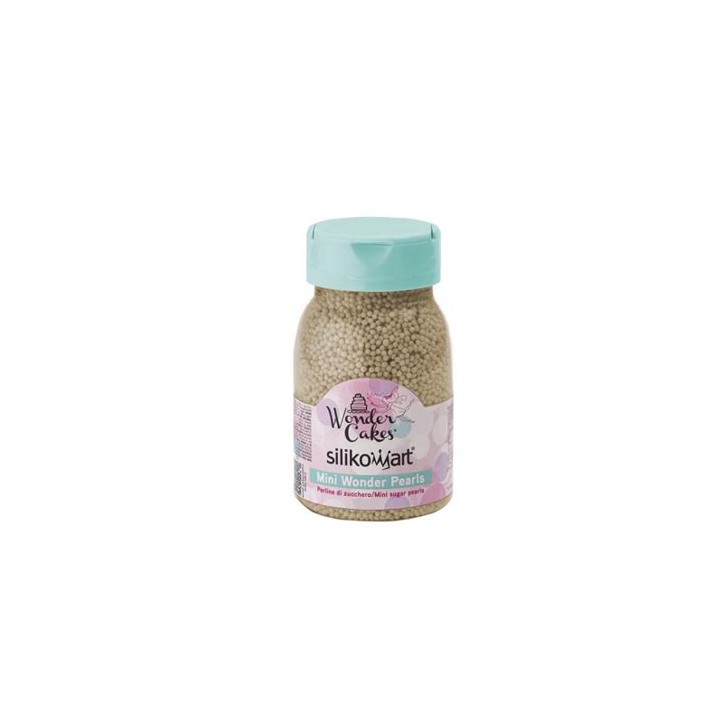 Sprinkles Nonpareils Bronce Silikomart