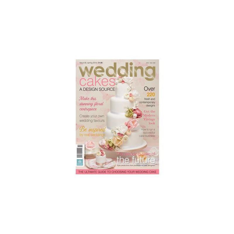 Revista Wedding Cakes Squire Kitchen Nº50 Primavera 2014