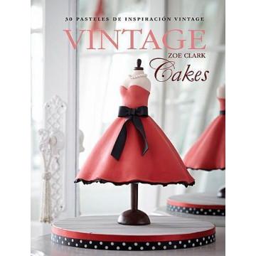 Libro Vintage Cakes de Zoe Clark