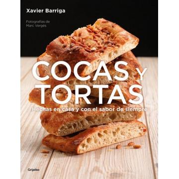 Libro Cocas y Tortas por Xabier Barriga
