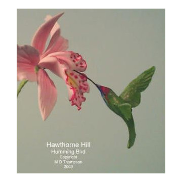 Molde silicona Colibrí Hawthorne Hill