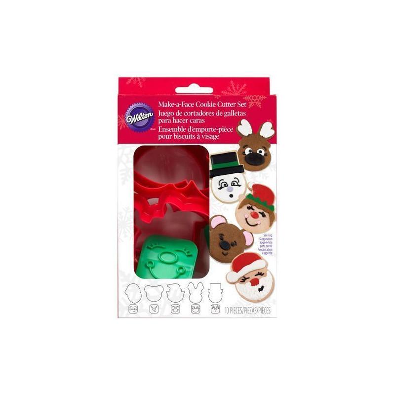 Cortante sello Caritas Navidad Wilton