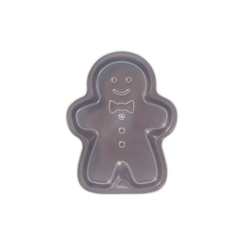 Molde bizcocho Gingerbread con tapa Wilton