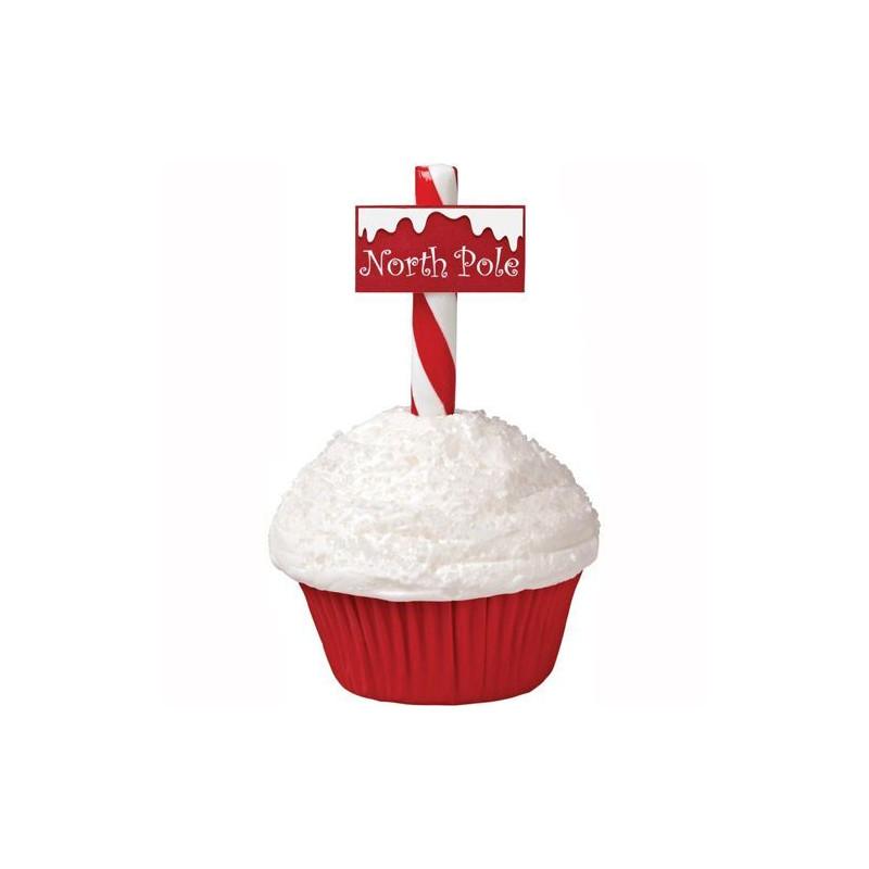 Set para cupcakes: Cupcakes Polo Norte Navidad Wilton
