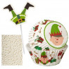 Set para cupcakes: Elfo Naviad Wilton