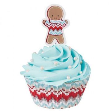 Set para cupcakes: Happy Holiday to you Wilton