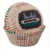 Cápsulas cupcakes Holiday Sweet Navidad Wilton