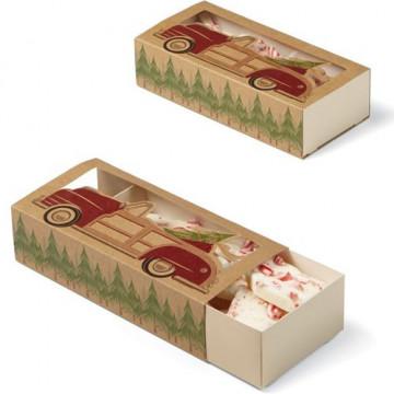 Cajas 3 cajas deslizantes Dulce Navidad Wilton