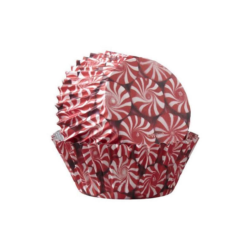 Capsulas cupcakes antigrasa Caramelo de Canela Wilton