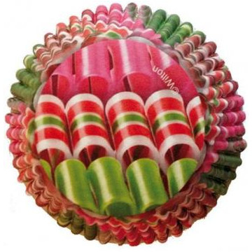Cápsulas cupcakes antigrasa Caramelo de Colores Wilton