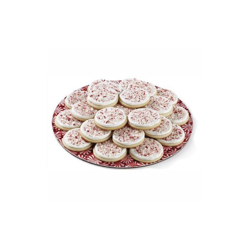 Platos redondos 30,40 cm Caramelos Wilton