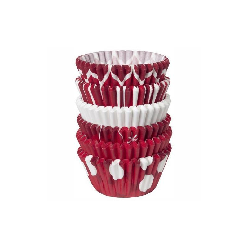Cápsulas mini cupcakes 150 unidades varias Navidad Wilton