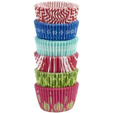 Cápsulas mini cupcakes 150 unidades varias Navidad 3 Wilton