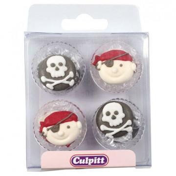 Decoracines de icing Piratas